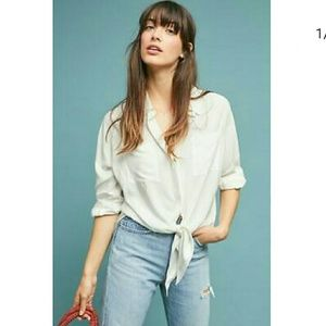 Anthropologie Maeve  button-down Shirt